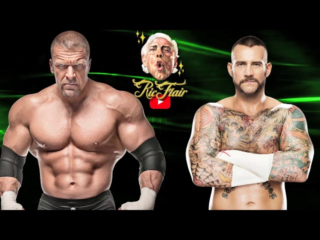 Ric Flair on  real life heat between CM Punk and Triple H