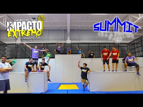 Summit Trampoline Park Chile - Feat Impacto Extremo