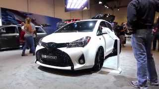 DUB Edition Toyota Yaris and Sienna Premiere at SEMA 2014!