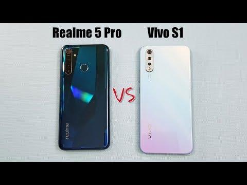 Realme 5 Pro vs Vivo S1 SpeedTest Camera Comparison