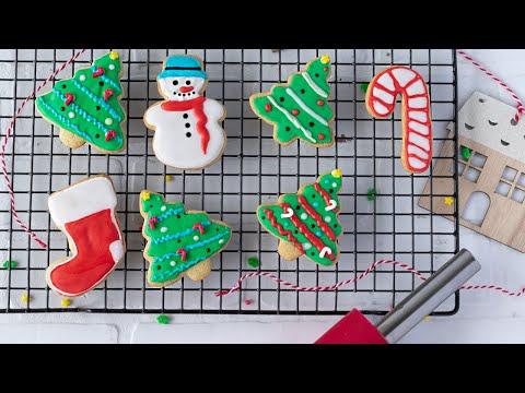 DELICIOUS Easy Vegan Sugar Cookies | Plus Royal Icing