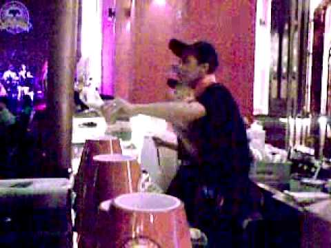 Tawandang Singapore Bar Staff Dancing