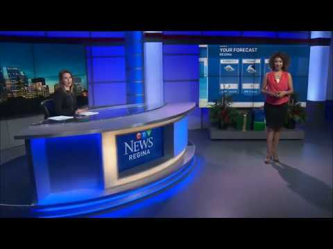 Weather Anchoring 3 - CTV Regina