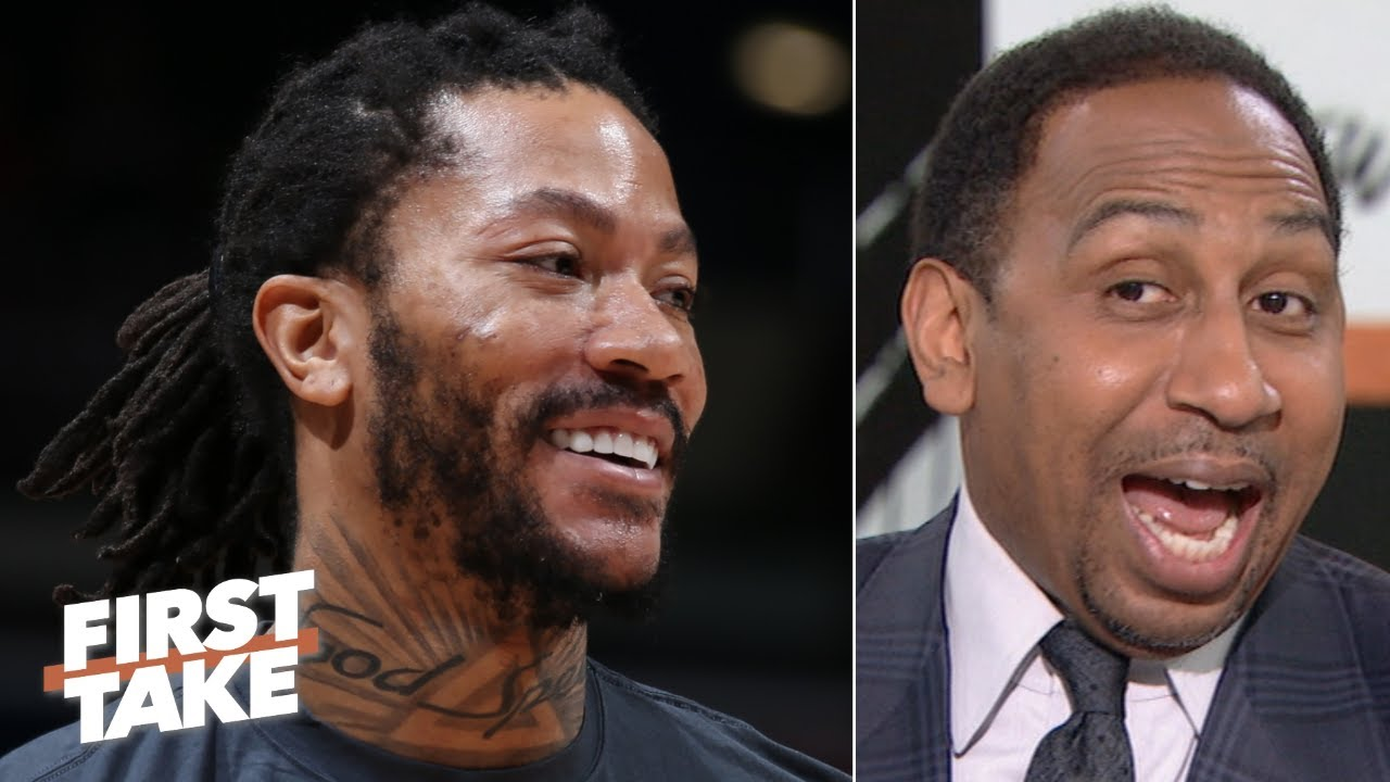 Stephen A.: Derrick Rose is a perfect fit for the Lakers | First Take