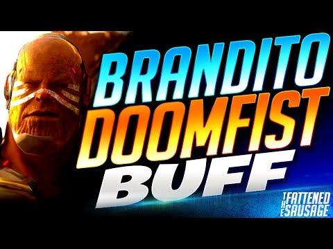 "Doomfist GOD ""Brandito"" Tries NEW DOOMFIST In PTR! Thoughts & Gameplay   Overwatch thumbnail"