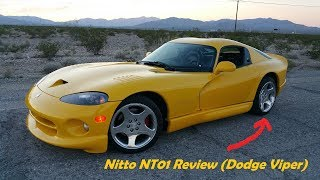 """Nitto """"NT01"""" Review on a Dodge Viper"""