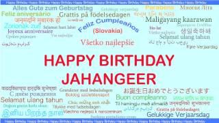 Jahangeer   Languages Idiomas - Happy Birthday