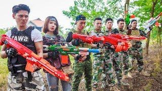 LTT Nerf War : Special Task SEAL X Warriors Nerf Guns Fight Criminal Group Bandits Danger