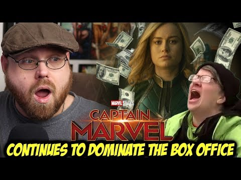 Captain Marvel Continues to Dominate the Box Office....& The Trolls are MAD!!! Mp3