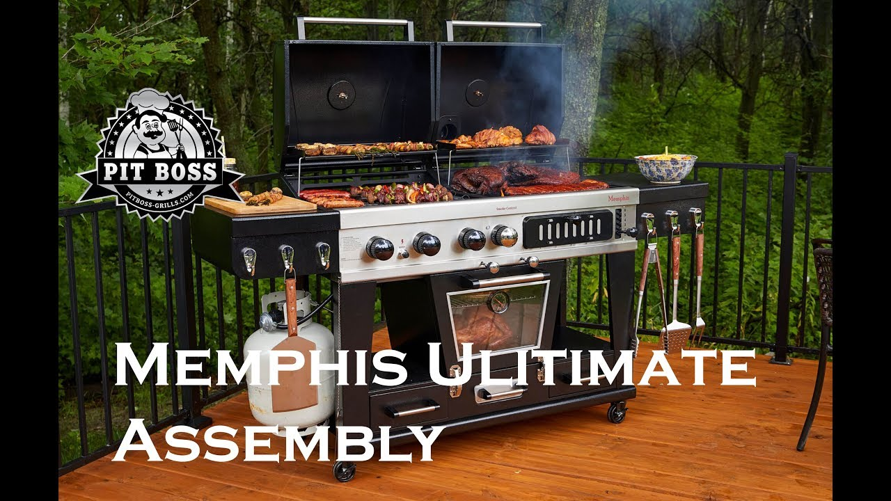 Günstiger Grill Pit Boss Memphis Ultimate Smoking Grill