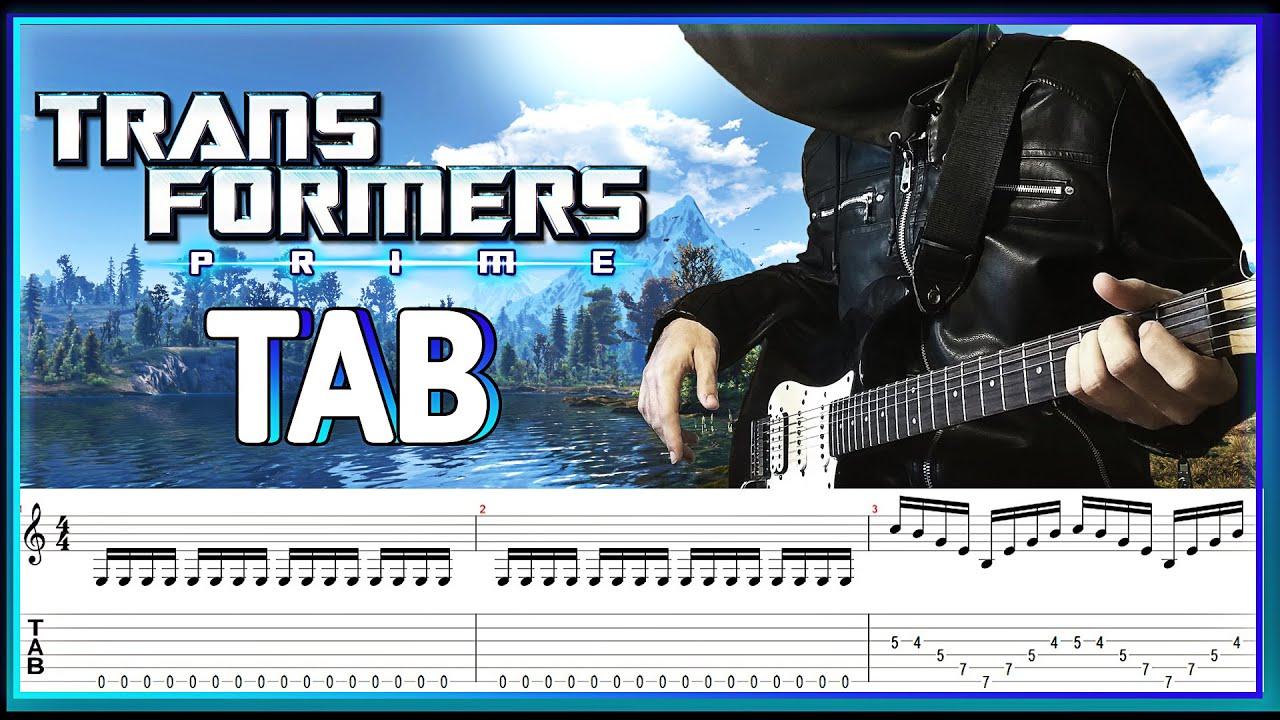 Transformers Prime Main Theme Brian Tyler TABS (Трансформеры Прайм главная тема Брайан Тайлер Табы)
