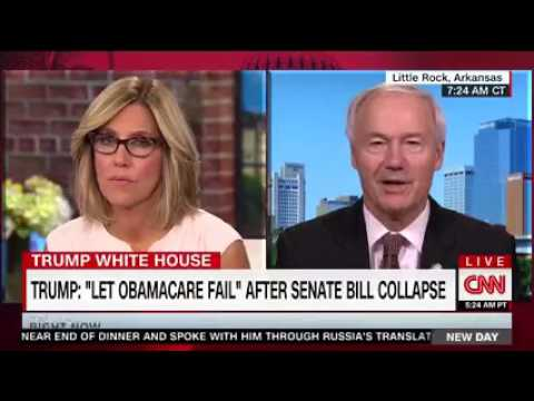 Arkansas Gov. Asa Hutchinson on CNN New Day