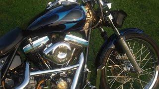 Riding the 1984 Harley FXR custom