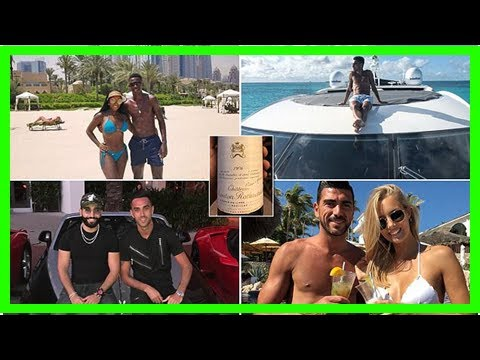 Footballers in china show off their incredible wealth