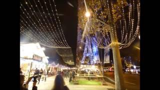 Mercado de Natal da Avenida Champs-Élysées 2015