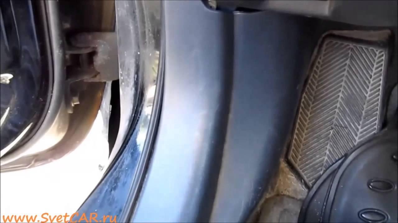 Установка подсветки в двери SvetCAR ru