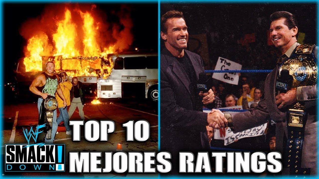 Los 10 Episodios de Smackdown con Mejores Ratings