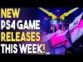 NEW PS4 Game Releases THIS WEEK! NEW PS4 JRPG In Development!