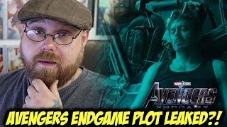Avengers: Endgame Plot Leaked?!!!
