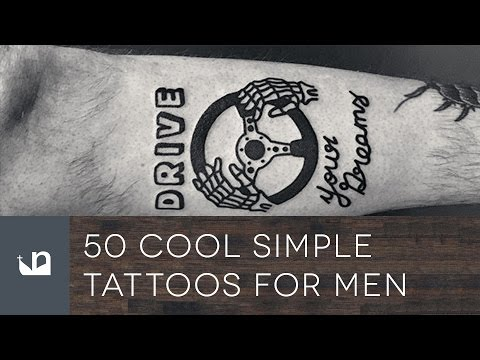 50 Cool Simple Tattoos For Men