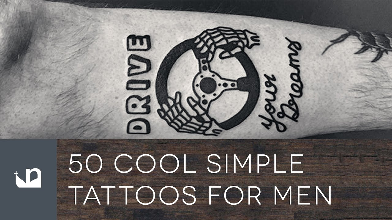 89d3199da 50 Cool Simple Tattoos For Men - YouTube