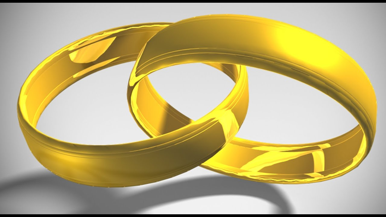 interlocking wedding rings clipart - photo #37