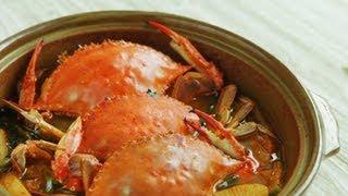 [korean Stew] Korean Spicy Crab Stew, 꽃게탕