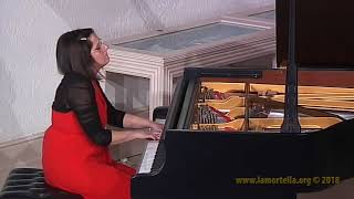 Marina Pellegrino esegue R. Schumann - da Drei Romanzen op. 28: - Sehr markirt