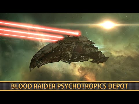 EVE ONLINE: BLOOD RAIDER PSYCHOTROPICS DEPOT [DED 5/10]