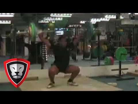 Auckland Rugby Academy 100kg Snatch.