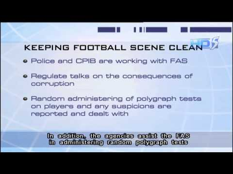 DPM Teo: Polygraph tests among measures to ensure football scene remains clean - 21Oct2013