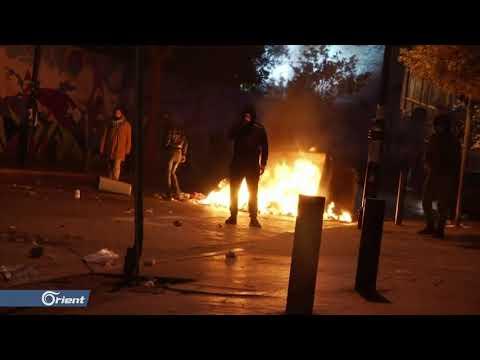 تجدد التظاهرات في لبنان ومتظاهرون يكسرون واجهة البنوك بشارع الحمرا  - 20:59-2020 / 1 / 15