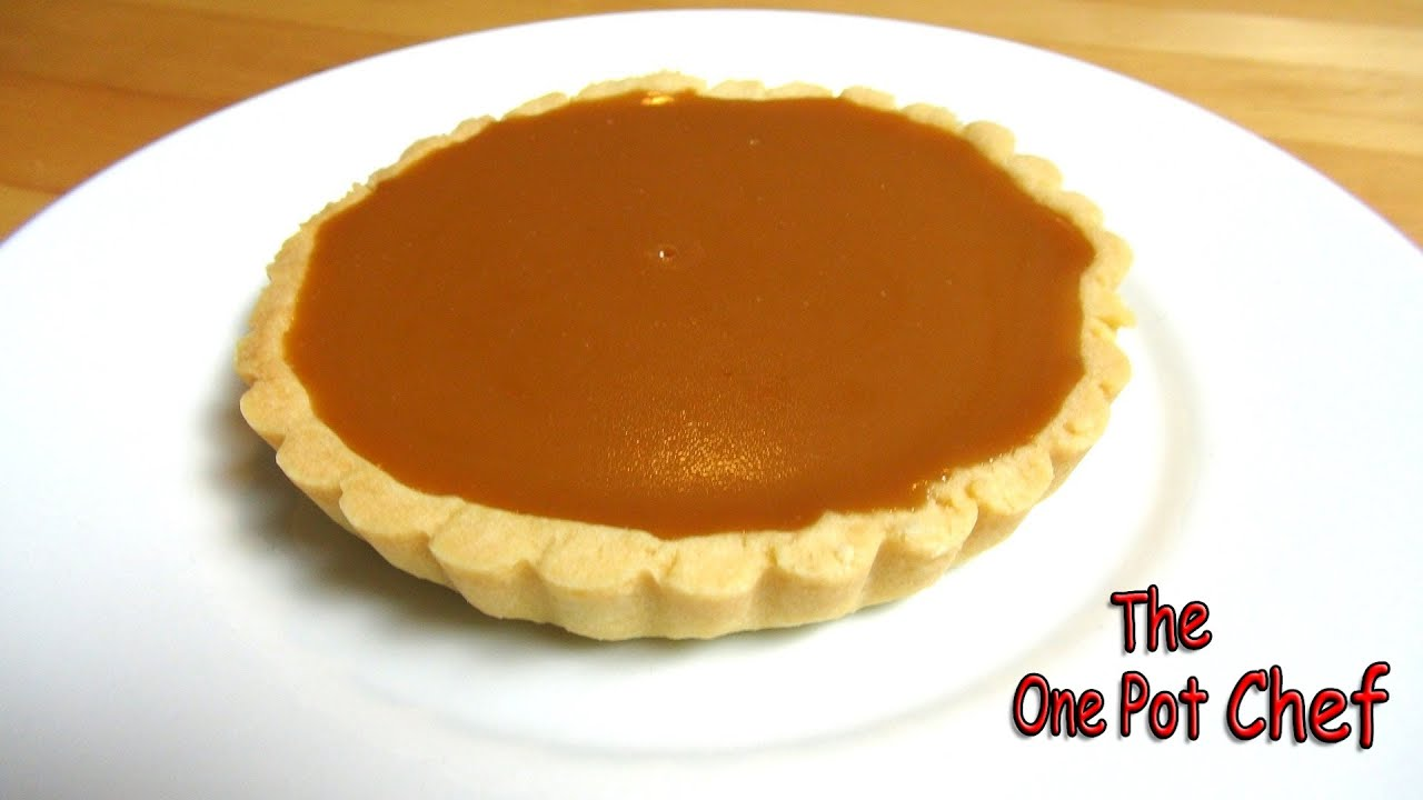 Caramel Tarts One Pot Chef Youtube