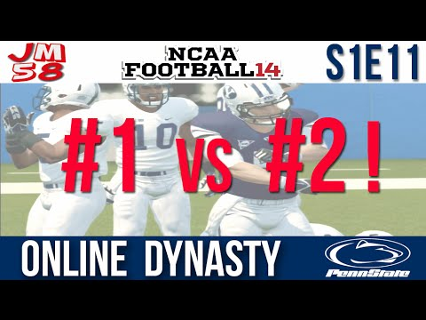 NCAA 14 Online Dynasty - CATS FIGHT FOR NUMBER ONE! - #2 BYU Cougars [S1E11]