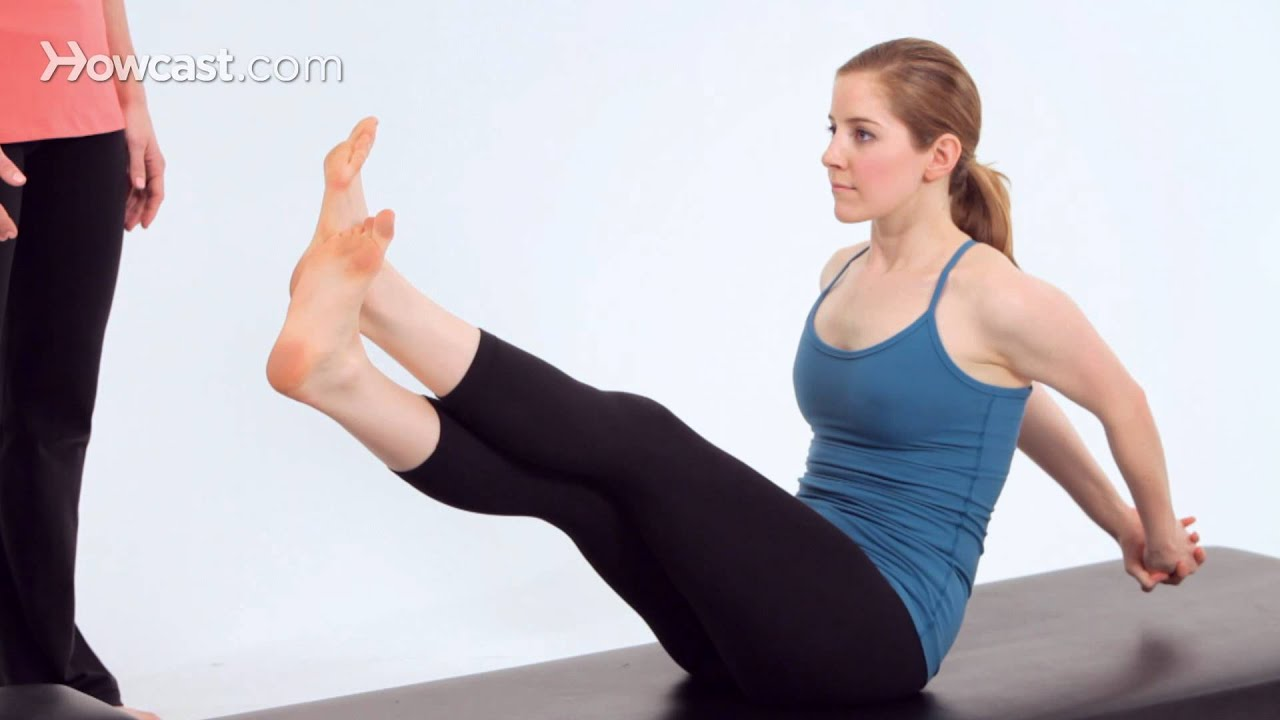 Boomerang Exercise Instructions for Pilates