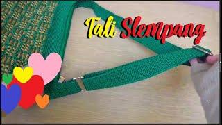 Crochet || Sling Handle || Tutorial Cara Membuat Tali Slempang Tas Rajut