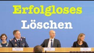 19. September 2018 - Bundespressekonferenz - RegPK
