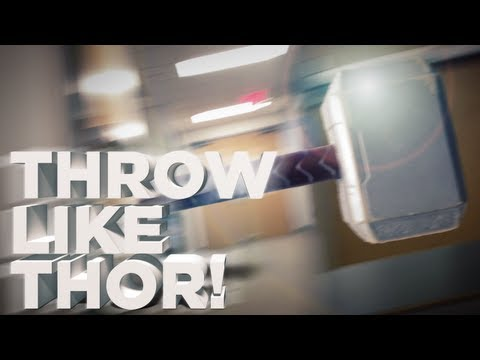 Throw a Hammer Like Thor! -- Behind the Frame