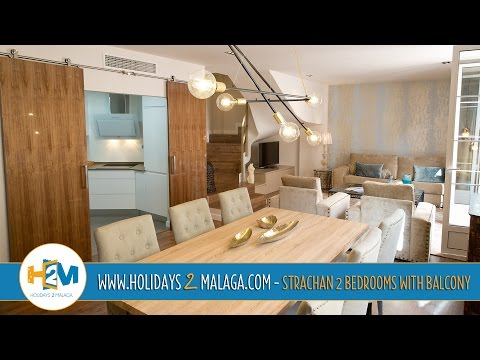 Holidays 2 Malaga - Apartment for rent Strachan 2 Bedroom with Balcony