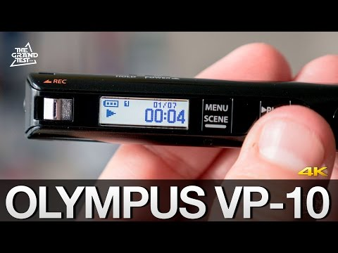 Olympus VP10 : test de l'enregistreur audio de poche