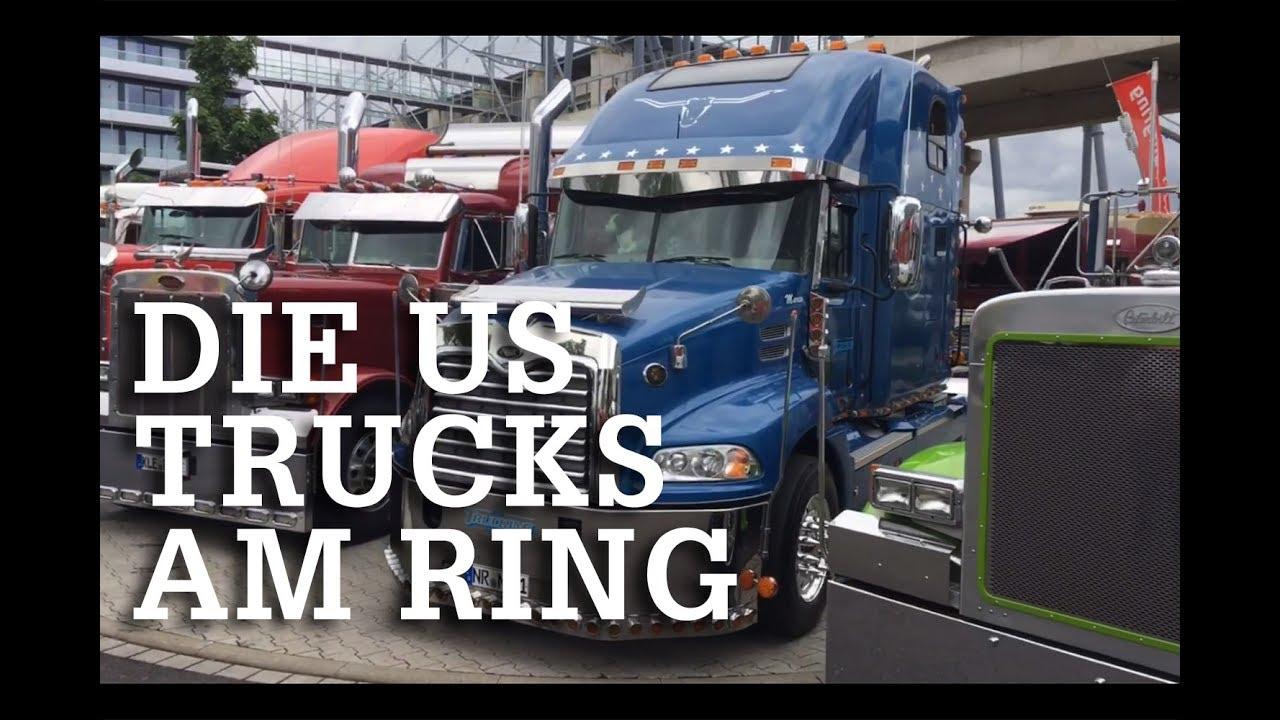 Die Us Trucks Beim Truck Grand Prix 2017 Hd Youtube