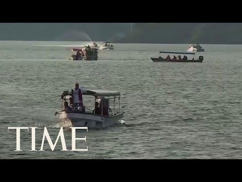 Tourist Boat Sinks In Colombia: At Least Six Dead And 31 Missing From 160 Passenger Boat   TIME