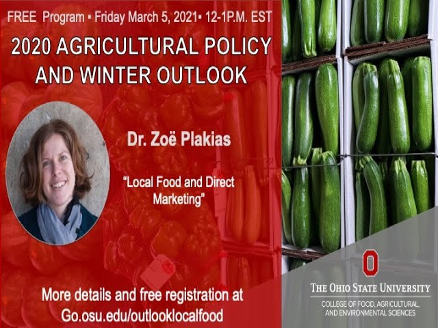 AEDE Winter Outlook: Local Food and Direct Marketing