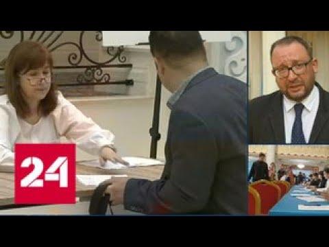 Выборы в Казахстане: Токаев и Назарбаев уже проголосовали - Россия 24