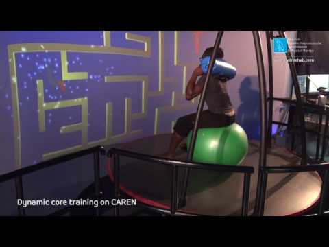 Dynamic core training on CAREN 06