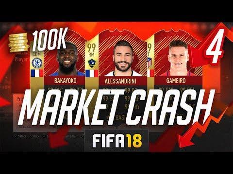 THE BEST TEAM IN FIFA! #04 [100K MARKET CRASH TEAM] - FIFA 18 Ultimate Team