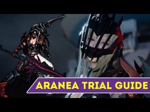 [FFBE] Final Fantasy Brave Exvius - Aranea Trial Guide
