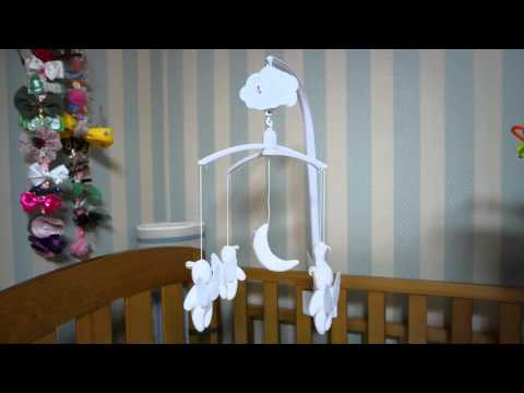 Trousselier VM1144 Musical Mobile Angels(투르슬리어 오르골 뮤직박스) Baby Crib(Bed) Mobile Bell Toy