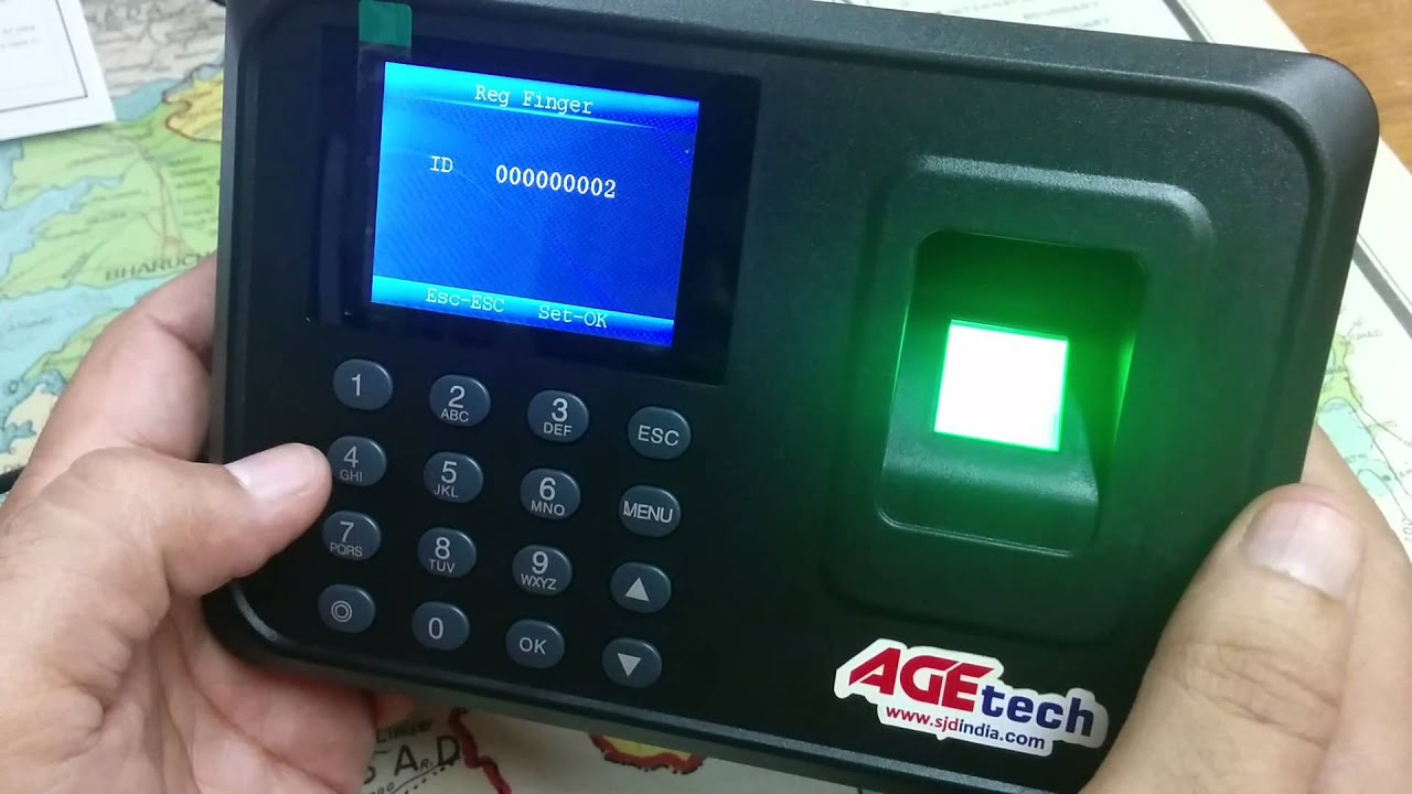 Biometric Fingerprint Based Time Attendance System Age