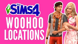 ALL Woohoo Locations in The Sims 4 (2020) 💕